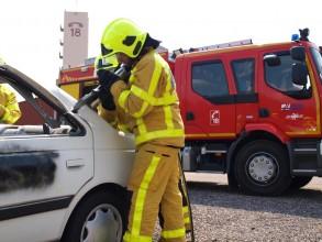 Les pompiers en jaune
