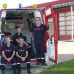Les pompiers de St Germain